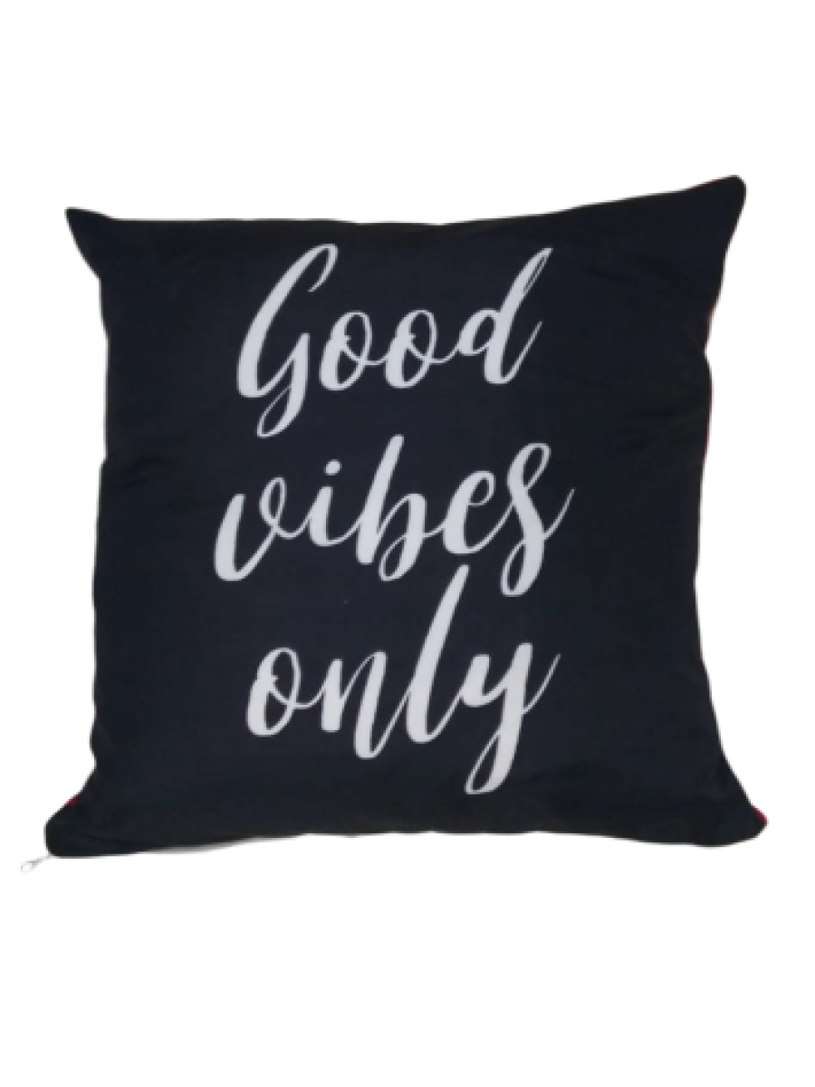 Almofada Personalizada Good Vibes Only